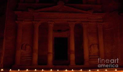 Petra A Light Original by Frank Welder