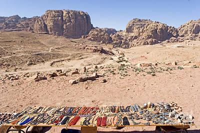 Jordan Souvenirs Photograph - Petra, Jordan by Adam Sylvester