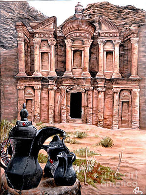 Painting - Petra  by Mylene Le Bouthillier