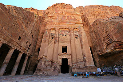 Nabatean Photograph - Petra Tomb by Stephen Stookey
