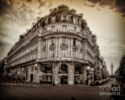Photograph - Petrofigaz Paris by Ken Johnson