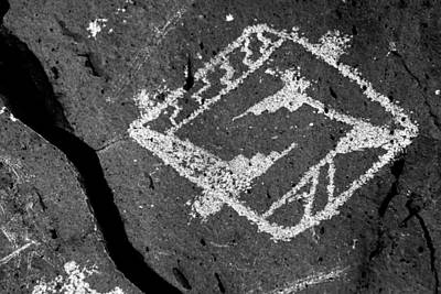Photograph - Petroglyph Art I by Daniel Woodrum