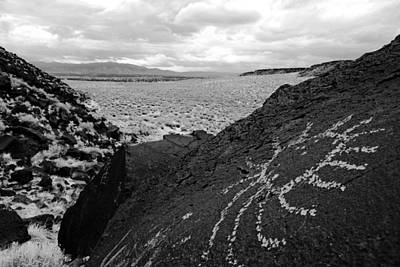 Photograph - Petroglyph Art II by Daniel Woodrum