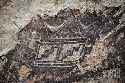 Photograph - Petroglyph Design by Cheryl McClure