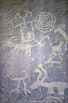 Petroglyph Panel Art Print
