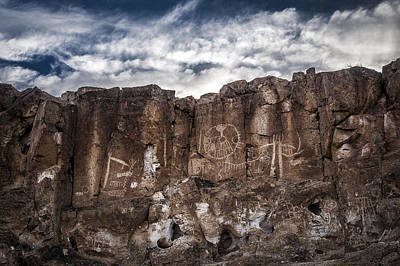 Photograph - Petroglyphs by Cat Connor