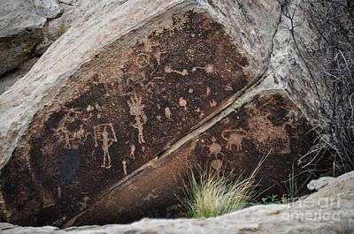 Photograph - Petroglyphs by Cheryl McClure
