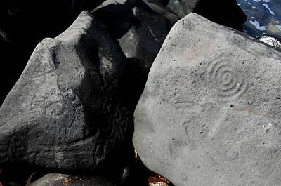 Photograph - Petroglyphs Las Labradas by Rebecca Parker