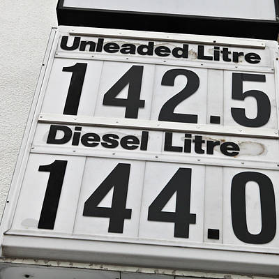 Gas Price Photograph - Petrol Prices by Tom Gowanlock
