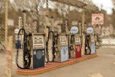 Photograph - Petroleum 2 by Caroline Stella