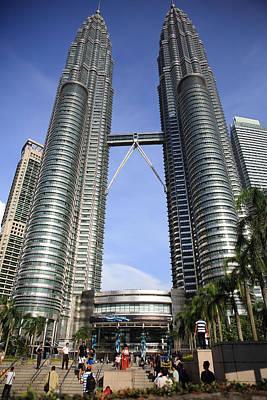 Photograph - Petronas Towers 1  Kuala Lumpur by Tony Brown