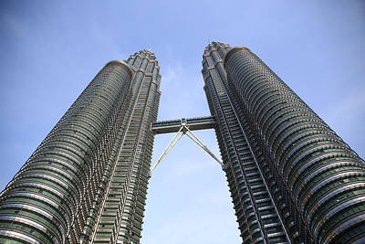 Photograph - Petronas Towers 2  Kuala Lumpur by Tony Brown