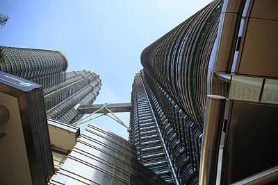 Photograph - Petronas Towers 3  Kuala Lumpu by Tony Brown