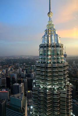 Photograph - Petronas Towers 4  Kuala Lumpur by Tony Brown