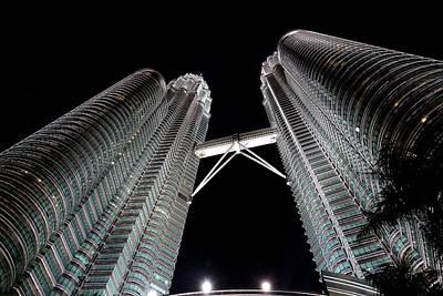 Photograph - Petronas Towers 5  Kuala Lumpur by Tony Brown