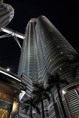 Photograph - Petronas Towers 6  Kuala Lumpur by Tony Brown