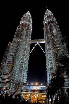 Photograph - Petronas Towers 7  Kuala Lumpur by Tony Brown