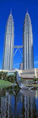 Petronas Towers Kuala Lumpur Malaysia Art Print by Panoramic Images