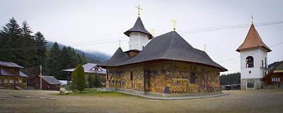 Photograph - Petru Voda Monastery In Neamt County - Romania by Vlad Baciu