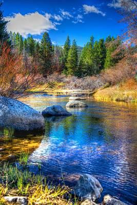 Art Print featuring the photograph Pettengill Creek by Kevin Bone