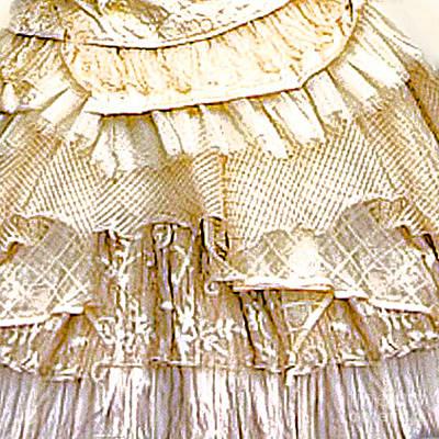 Netting Digital Art - Petticoat by Maureen Tillman