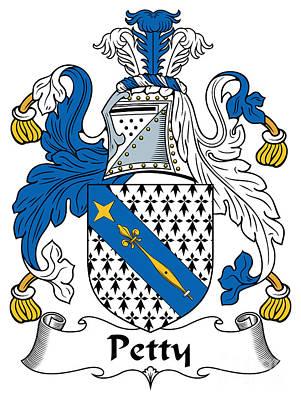 Petty Coat Of Arms Irish Art Print