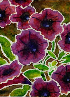 Painting - Petunia by Katie Sasser