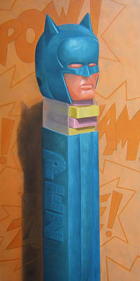 Candy Painting - Pez At Large by Judy Sherman