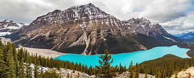 Photograph - Peyto Lake Banff Alberta by Pierre Leclerc Photography