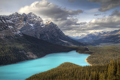 Photograph - Peyto Lake Banff National Park by Pierre Leclerc Photography