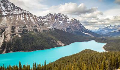 Peyto Lake Banff Art Print by Pierre Leclerc Photography