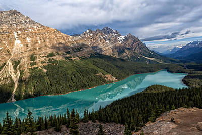 Photograph - Peyto Lake by Kathleen Bishop