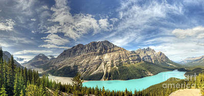 Peyto Lake Art Print