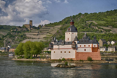 Photograph - Pfalzgrafenstein Castle Germany by Greg Kluempers