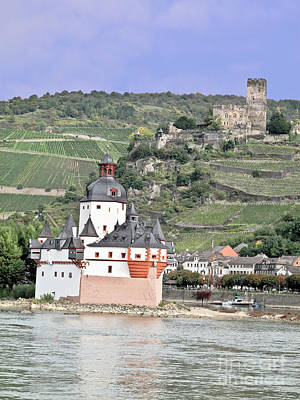 Photograph - Pfalzgrafenstein With Burg Gutenfels  by Elvis Vaughn