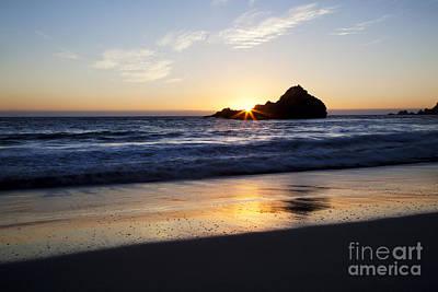 Pfeiffer Beach Sunset Print by Jenna Szerlag