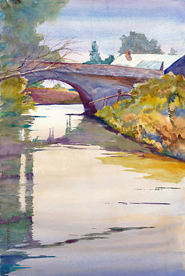 Wa Painting - Pfenning Crossing by John Ressler