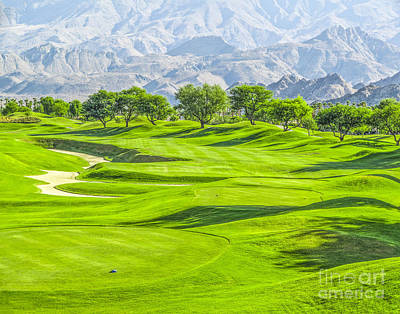 Photograph - Pga West Stadium Course by L J Oakes