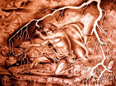 Drawing - Phaethon by Gary Renegar