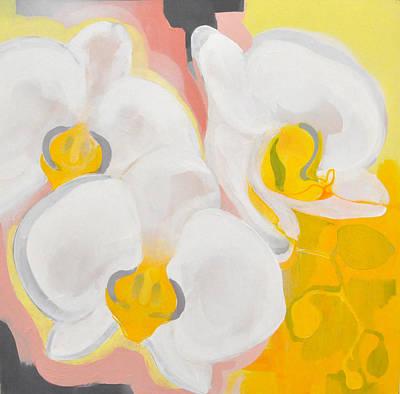 Los Angeles Painting - Phalaenopsis Aphrodite by Jennifer Walker