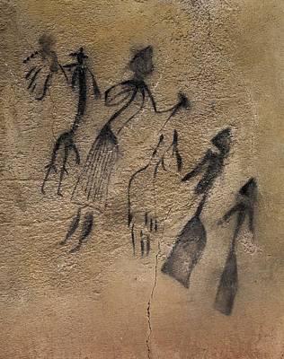 Phallic Dance In Naturalistic-stylized Art Print by Everett