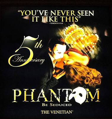 Phantom At The Venetian Art Print