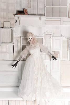 Phantom Bride Art Print