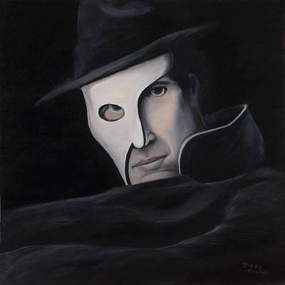 Oil Painting - Phantom by Darice Machel McGuire