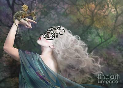 Mystery Photograph - Phantom by Drazenka Kimpel