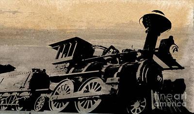 Phantom On Rails Art Print by R Kyllo
