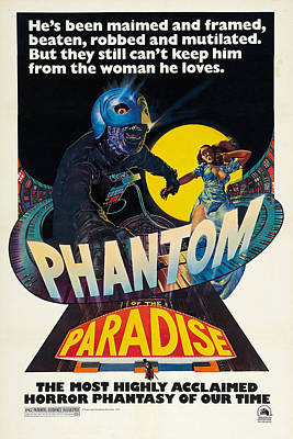 Theater Drawing - Phantom Paradise by MMG Archives