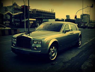 Rolls Royce Phantom Art Print by Salman Ravish