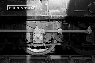 Photograph - Phantom Vintage Train by Ken Brannen