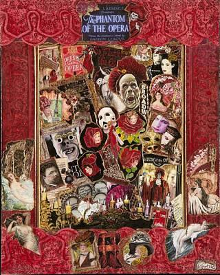 Phantom Of The Opera Original by Jonell Restivo